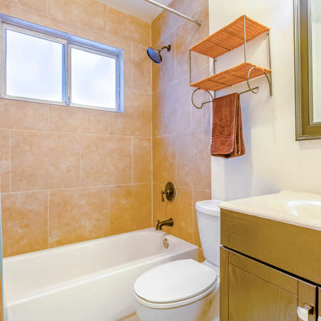 Square Model homes always show off beautiful bathrooms clean shine. Wonderful California home in San Diego county. Real estate listings with powerful visuals.
