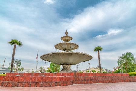 La Bella Fontana di Napoli beautiful fountain in Naples Long Beach California