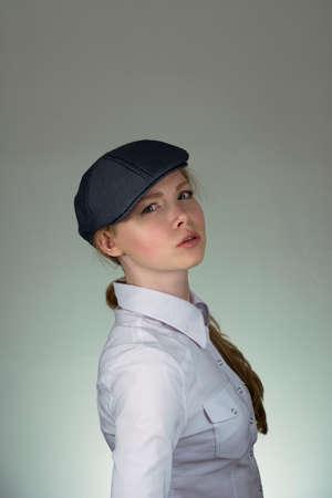 kepi: Girl in a cap