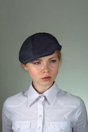 kepi: Portrait of a cap Stock Photo