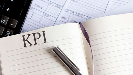 Notebook with Toolls and Notes about KPI .Business