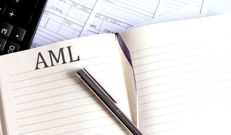 Notebook with Toolls, Notes about AML