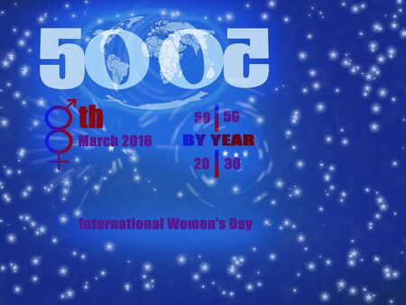pledge: By Heart pledge gender equality.International workingWomens Day campaign.2016 theme is gender equity by 2030.8th March of every year is International workingWomens Day. Stock Photo