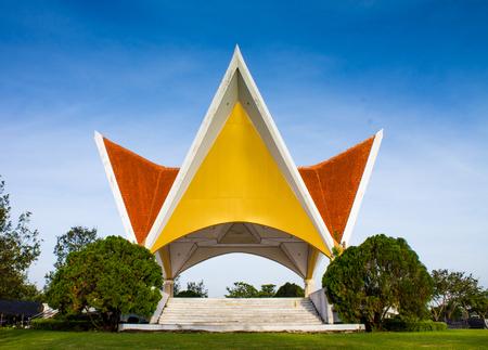 Concert Pavilion in King Rama IX Park in Bangkok,Thailand.