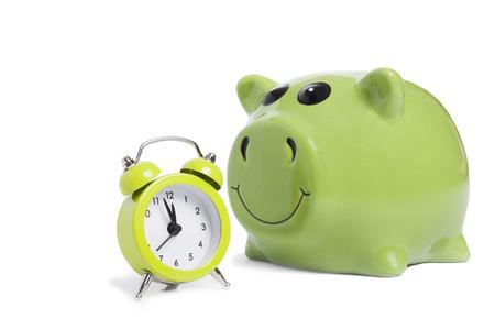 alarmclock: Alarm-clock and piggybank