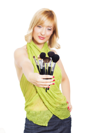 Makeup artist photo