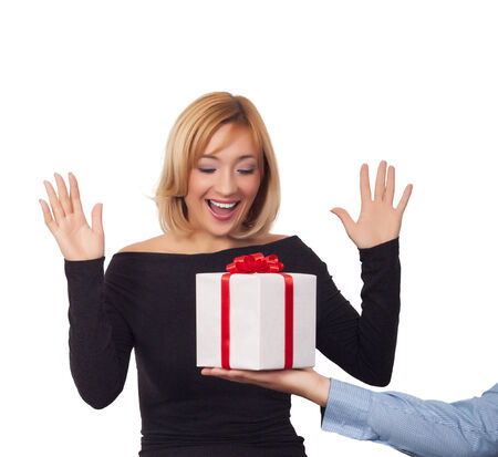 Gift box concept photo
