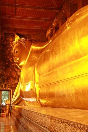 Recycling buddha at Wat Pho,Thailand. photo