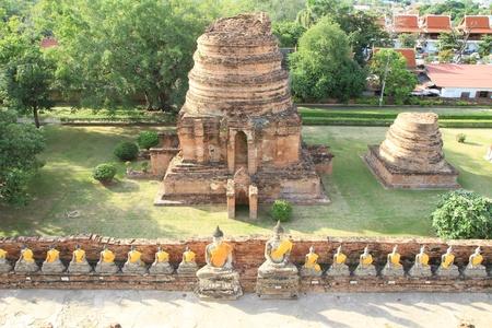 chaimongkol: Stone statue of a Buddha at Wat Yai Chaimongkol,Thailand