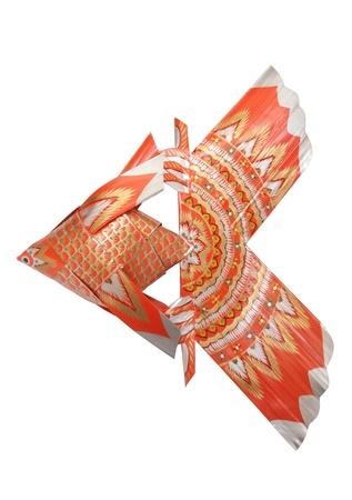 Fisch-f�rmige Ornamente von Palmbl�ttern gemacht Lizenzfreie Bilder