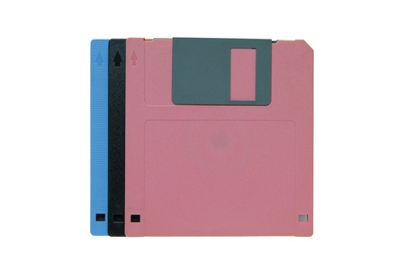 Stack of diskettes Stock Photo - 10248309