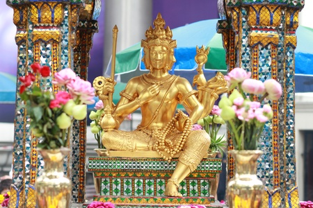 Erawan Schrein in Bangkok, Thailand.