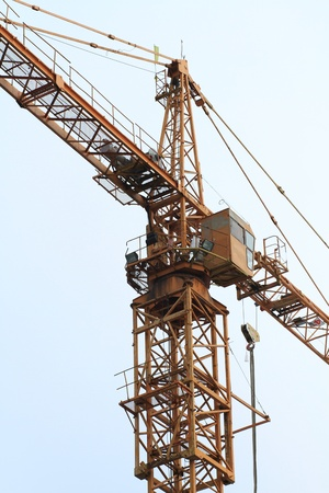 Crane and building construction Stock Photo - 10908090