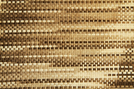 Wicker Woven Texture Background from recycle paper photo