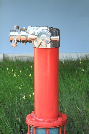 fire fighting equipment: Fire hydrant Stock Photo