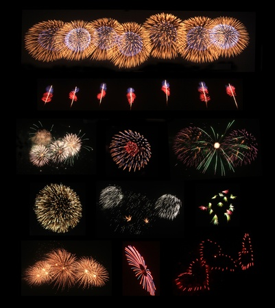Colorful Fireworks  Stock Photo - 11670564