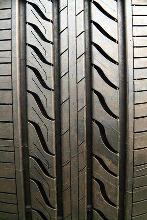 Closeup image of car tire photo