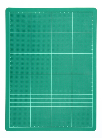 Cutting mat isolated on white background Stock Photo - 13052367