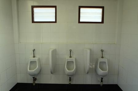 toilet men s room  Stock Photo - 13315368