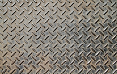 Background of metal diamond plate  Stock Photo - 15007706