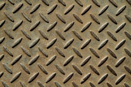 Background of metal diamond plate Stock Photo - 15009043