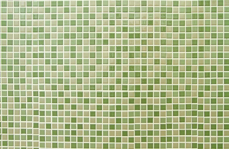 Green mosaic tiles background  photo
