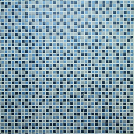 Blue mosaic tiles background photo