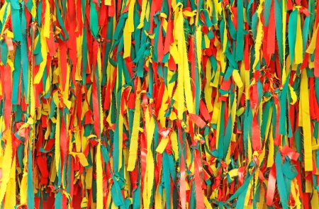 hyperspace: Colorful scrappy fabric