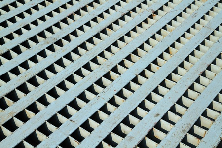 Big metal grate  Stock Photo - 18666643