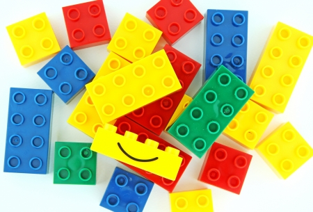 Color lego blocks