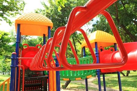 children playground: Colorful children playground