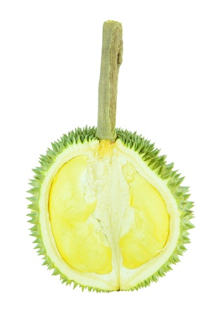 Segment of durian fruit, the king of fruit  photo