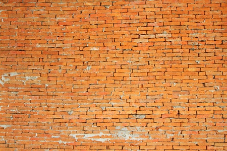 Red seamless brick wall background photo
