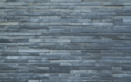 Gray seamless brick wall background  photo