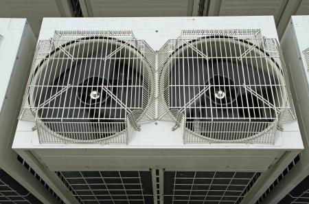 aire acondicionado: Ventilador de aire acondicionado