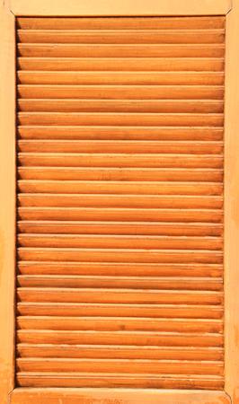 Wooden window shutter  photo