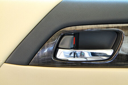 Modern car door panel control  photo