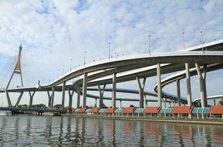 bhumibol: Bhumibol Bridge in Thailand