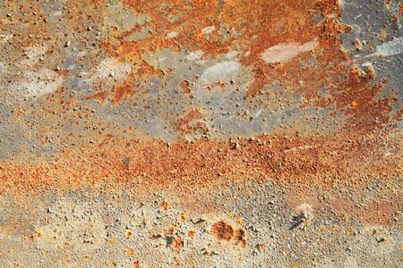 rusty: Rusty iron plate Stock Photo