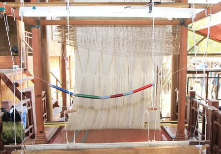 loom: Thai silk on the loom