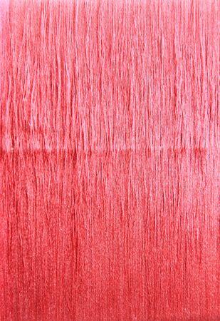 thai silk: Red thai silk thread