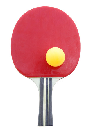 sporting goods: Racket for playing table tennis