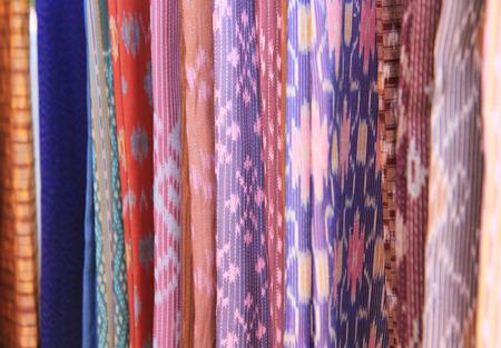 thai silk: Colorful Thai silk