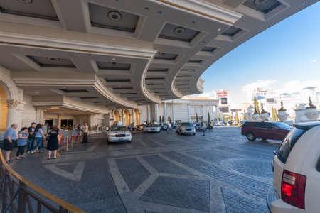 caesars palace: LAS VEGAS, NEVADA - APRIL 12, 2011: Caesars Palace hotel main entrance on April 12, 2011 in Las Vegas, Nevada. Caesars Palace is a luxury hotel and casino containing 3.348 rooms