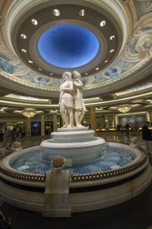 caesars palace: LAS VEGAS, NEVADA - APRIL 12, 2011: Caesars Palace hotel reception hall on April 12, 2011 in Las Vegas, Nevada. Caesars Palace is a luxury hotel and casino containing 3.348 rooms