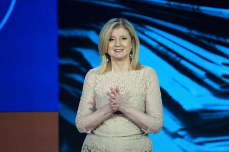 ATLANTA, GA, USA, MARCH 5, 2014 - The Huffington Post Media Group President Arianna Huffington makes speech at Microsoft Convergence conference in Georgia Congress Center on March 5, 2014 in Atlanta, GA