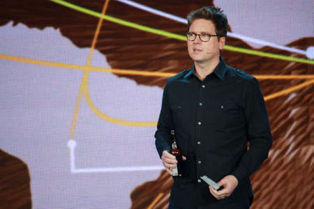 microsoft: ATLANTA, GA, USA, MARCH 5, 2014 - Twitter founder Biz Stone makes speech at Microsoft Convergence conference in Georgia World Congress Center on March 5, 2014 in Atlanta, GA
