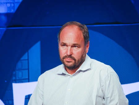 pivotal: LAS VEGAS, NV – MAY 6, 2014: CEO Pivotal Paul Maritz makes speech at EMC World 2014 conference on May 6, 2014 in Las Vegas, NV  Editorial