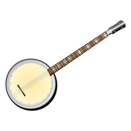 húros: illusztráció egy vonós hangszer bendzsó