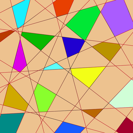 avant: Vector avant garde background geometric abstract